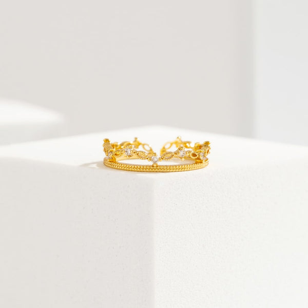 Statement Tiara Ring