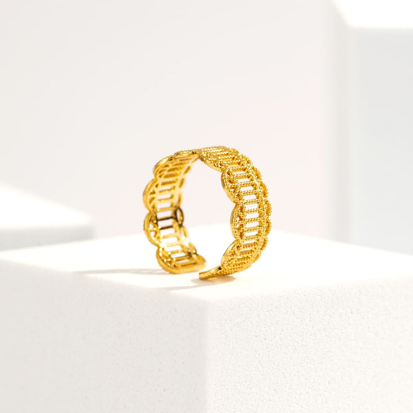 Colosseum Vintage Open Ring