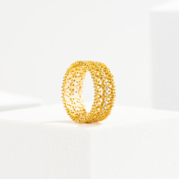 Belle Âme Zirconia Ring