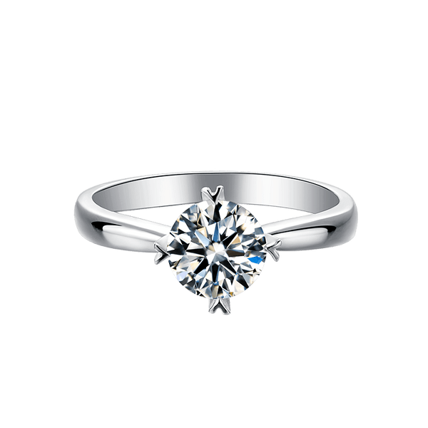Classic Four-Prong | Solitaire Diamond Ring (1.0ct)