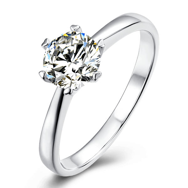 Classic Six-Prong | Solitaire Diamond Ring (1.0ct)