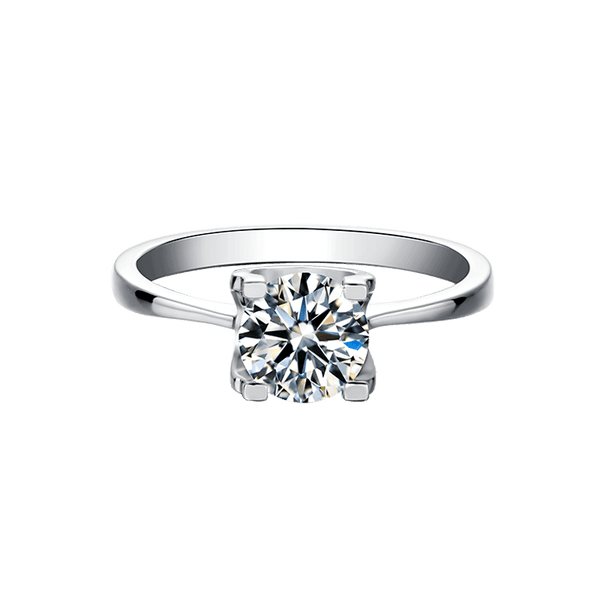 Tauren | Straight Band Diamond Ring (1.0ct)