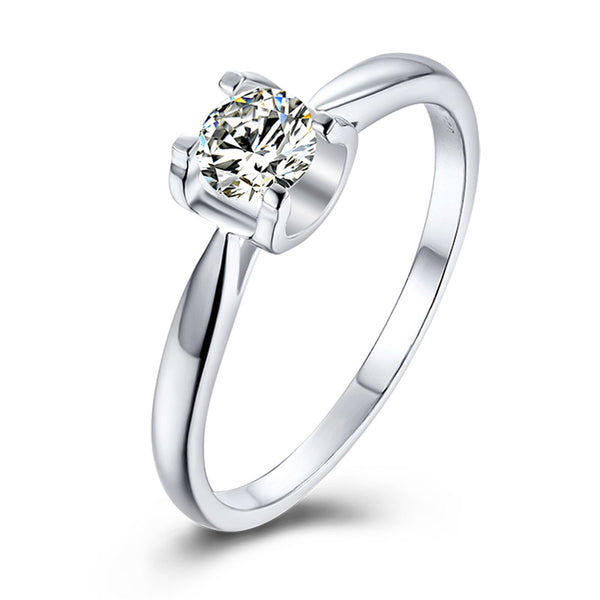 Tauren | Straight Band Moissanite Ring (0.5ct)