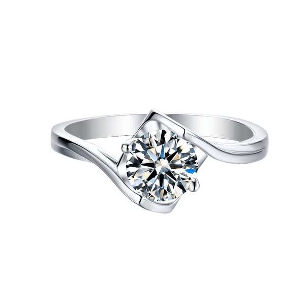 Angel's Kiss | Solitaire Diamond Ring (1.0ct)
