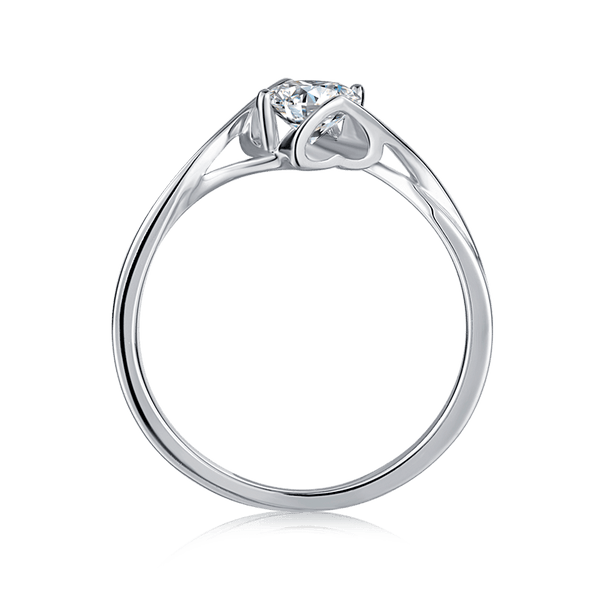 Angel's Kiss | Solitaire Diamond Ring (0.5ct)