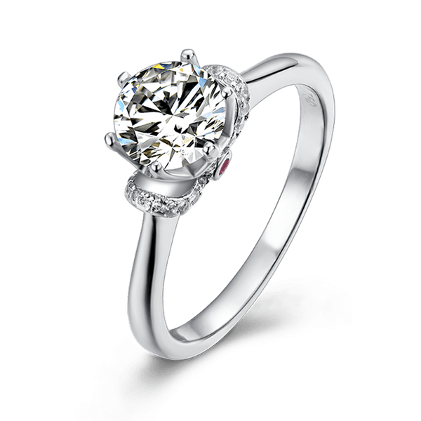 Charm | Solitaire Diamond Ring (0.5~1.0ct)