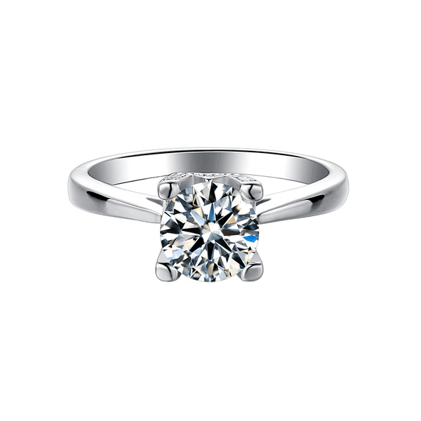 HW Letter | Solitaire Diamond Ring (1.0ct)