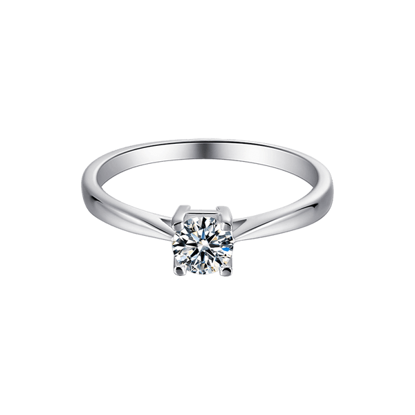HW Letter | Solitaire Diamond Ring (0.5ct)