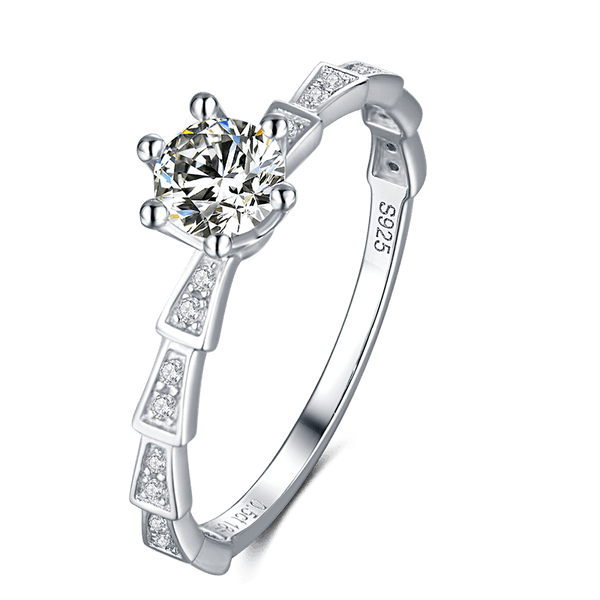 Medusa | Zircon Gemstones Band Diamond Ring (0.5ct)