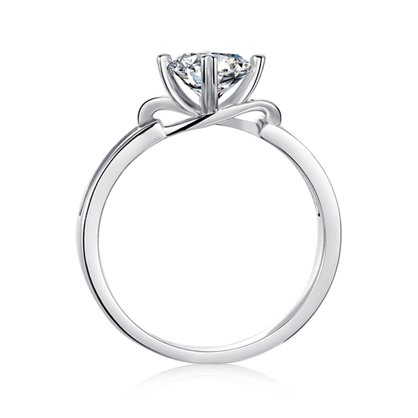 Bowknot | Solitaire Diamond Ring (1.0ct)