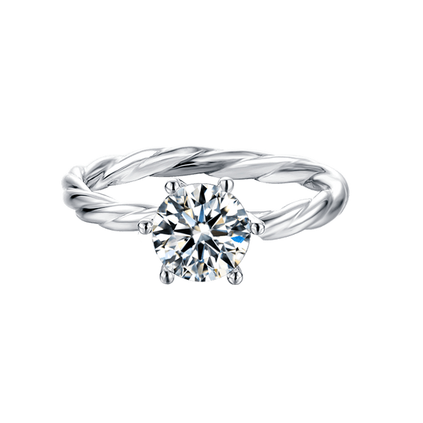 Vine | Solitaire Diamond Ring (0.5~1.0ct)