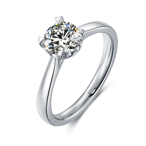 Beating Heart | Solitaire Diamond Ring (1.0ct)