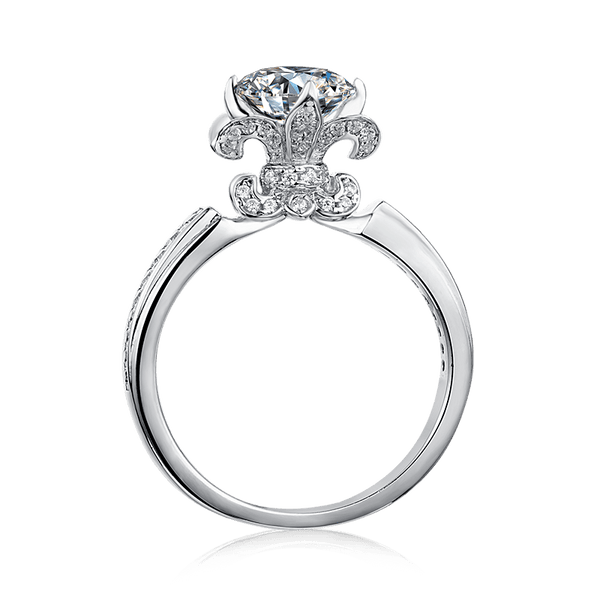 Iris | Solitaire Diamond Ring (1.0ct)