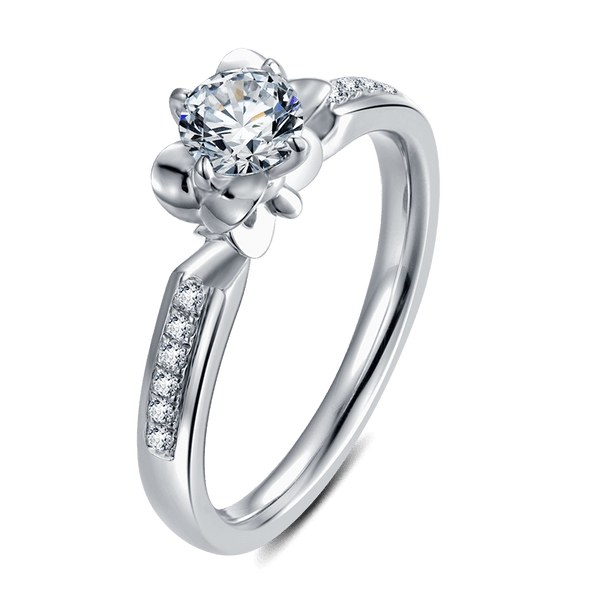 Iris | Solitaire Diamond Ring (0.5ct)