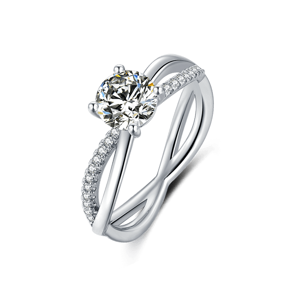 Wreath | Zircon Gemstones Band Diamond Ring (1.0ct)