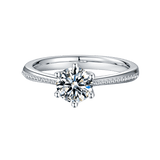 Promise | Solitaire Moissanite Ring (1.0ct)