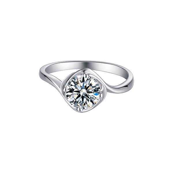 Darling Bud | Solitaire Diamond Ring (1.0ct)