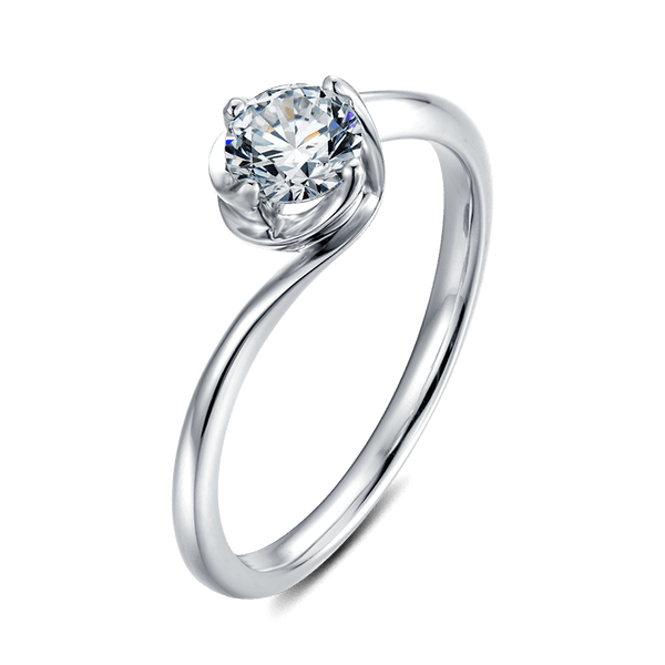 Darling Bud | Solitaire Diamond Ring (0.5ct)