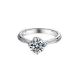 Lotus | Solitaire Diamond Ring (1.0ct)