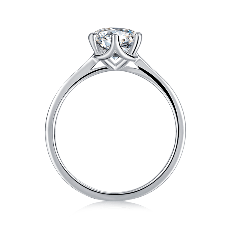 New Six-Prong | Solitaire Diamond Ring (0.5~1.0ct)