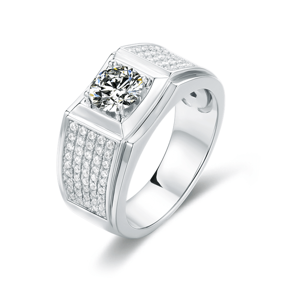 SupremacyⅠ - Men's Diamond Ring (1.0ct)