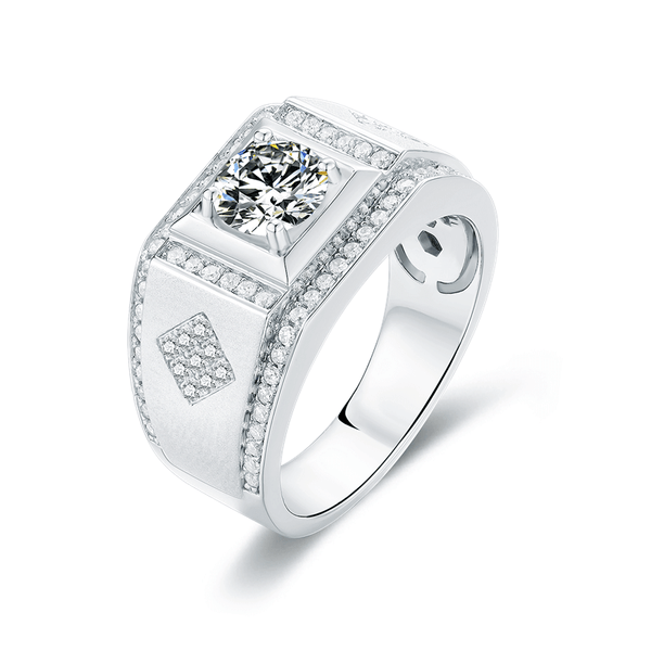 Supremacy Ⅱ - Men's Diamond Ring (1.0ct)