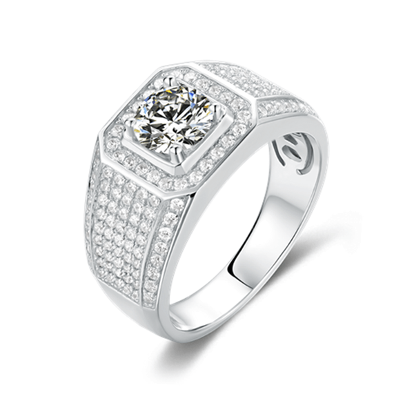 Supremacy Ⅲ - Men's Diamond Ring (1.0ct)