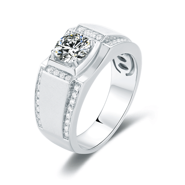 Vogue ¢ñ - Men's Diamond Ring (1.0ct)