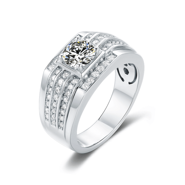 Supremacy Ⅳ - Men's Diamond Ring (1.0ct)