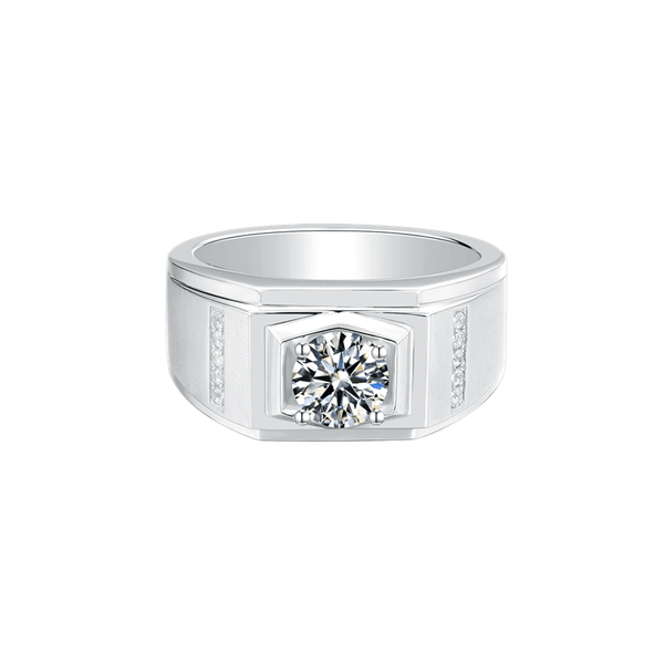 Vogue Ⅱ - Men's Diamond Ring (1.0ct)
