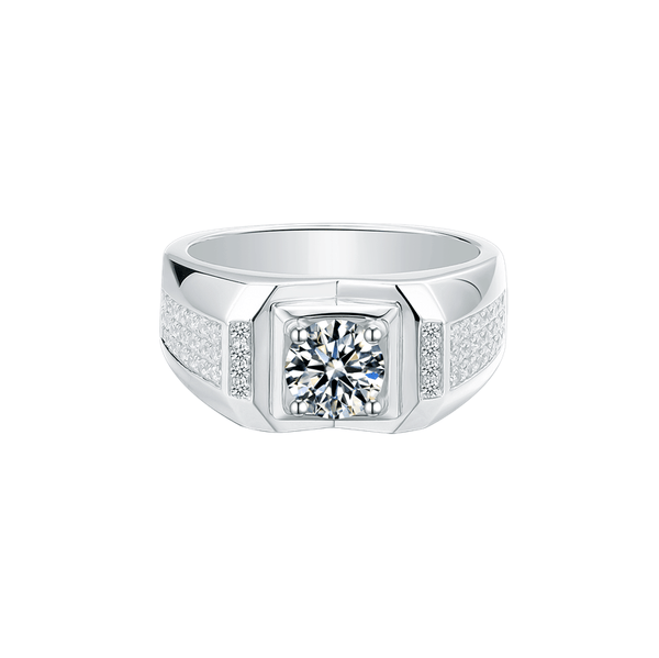 Supremacy Ⅴ - Men's Diamond Ring (1.0ct)