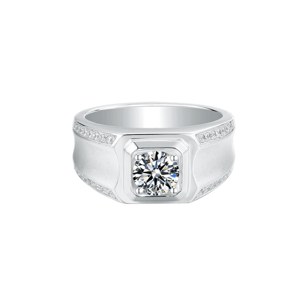 Elegance Ⅰ - Men's Diamond Ring (1.0ct)