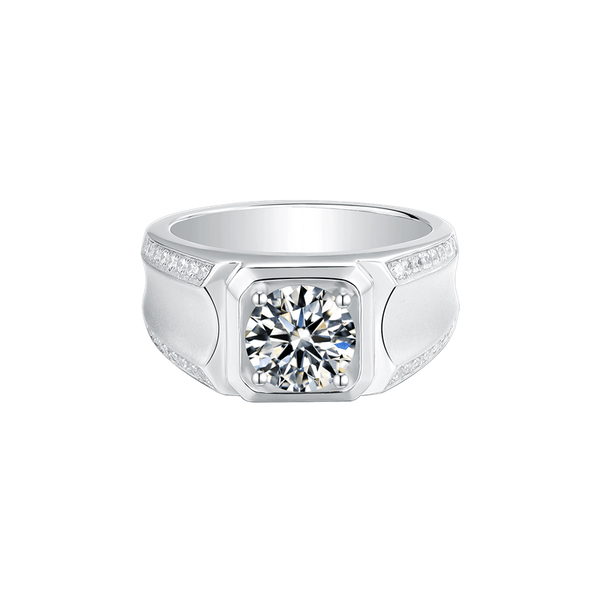 Elegance Ⅱ - Men's Diamond Ring (2.0ct)
