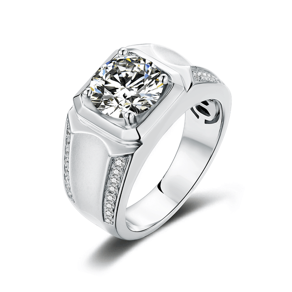 Elegance Ⅲ - Men's Diamond Ring (3.0ct)