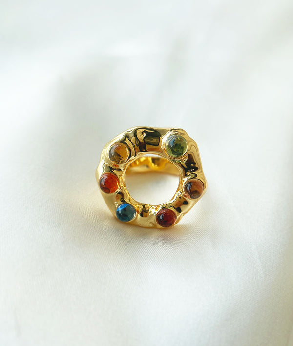 Antique Art StonesⅡ| loosegemstones Ring
