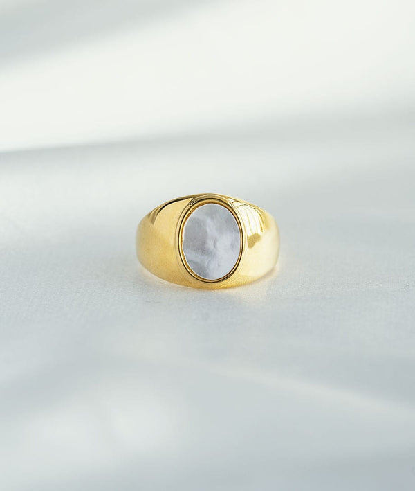 Freshwater Pearl| 18k Gold Plated Ring