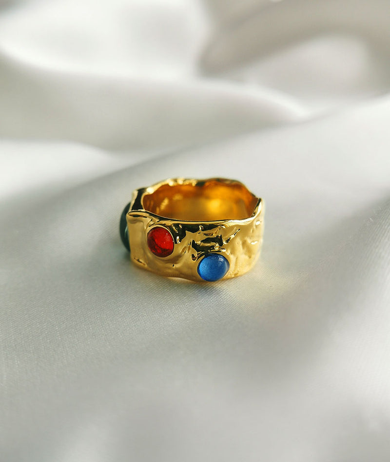 Antique Art StonesⅠ| sapphirering Ring