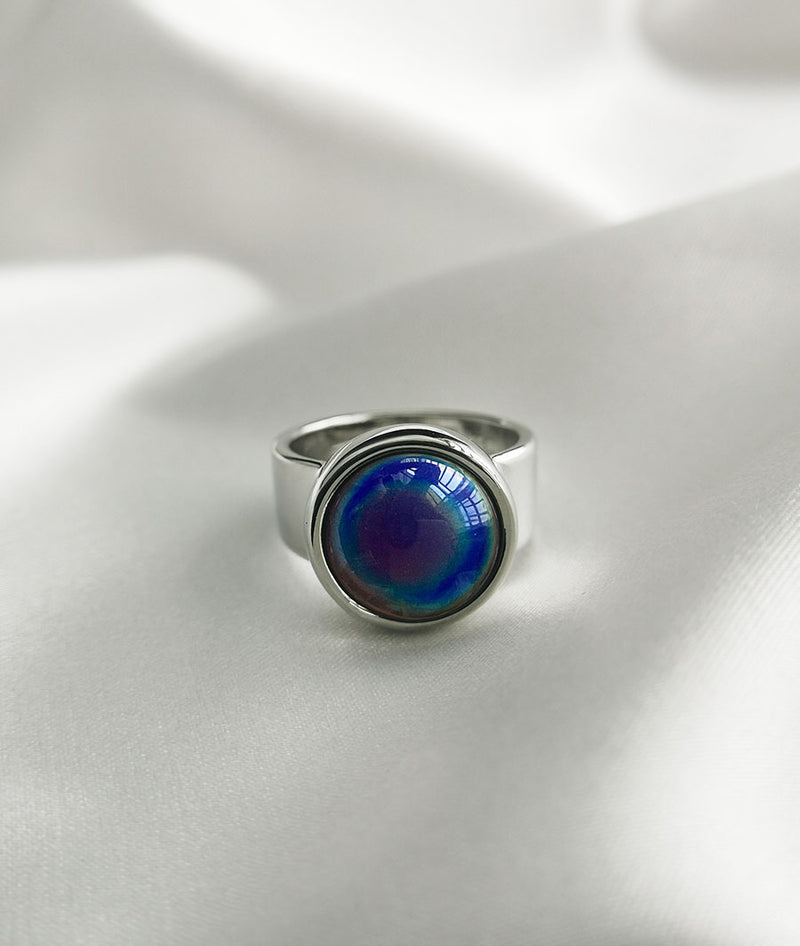 Malachite Blue| S925 Silver Ring