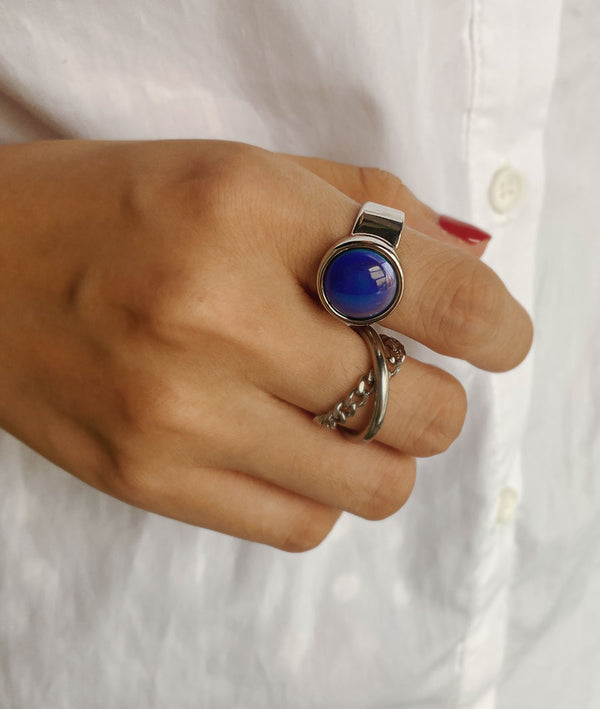 Starry Blue | S925 Silver Ring
