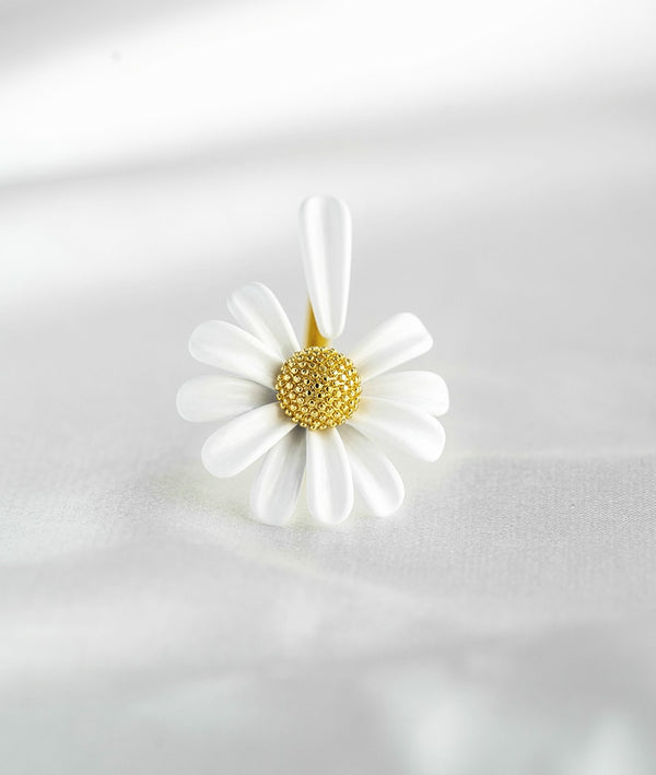 Daisy Flower| Open Ring