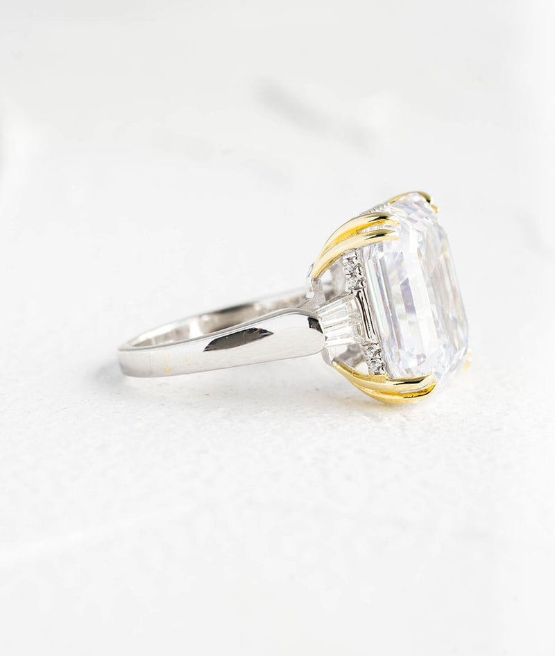 Gorgeous Square Shaped| S925 Silver Ring