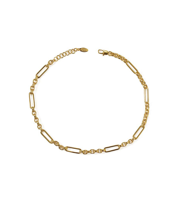 Gold Silver Twin Choker