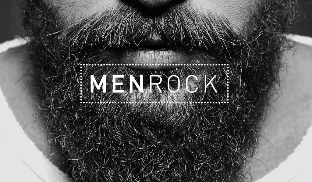 Men Rock products for excellent beard care and traditional shaving