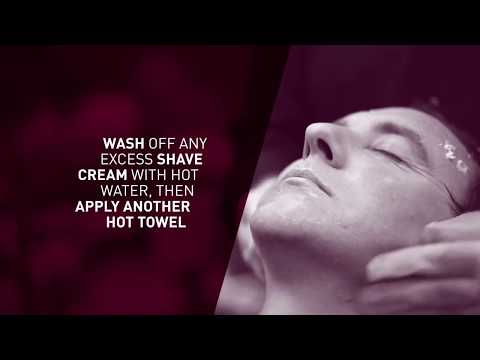 Men Rock video on how to wet shave properly with a traditional cut throat or Straight Razor