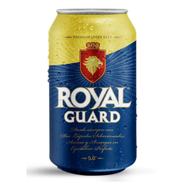Cerveza Royal Guard 350 ml