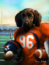 Load image into Gallery viewer, Denver Football Player