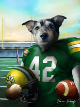 Load image into Gallery viewer, Green Bay Football Player