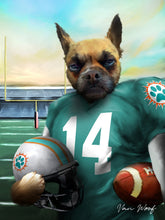 Load image into Gallery viewer, Miami Football Player