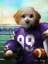 Load image into Gallery viewer, Minnesota Football Player