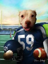 Load image into Gallery viewer, Seattle Football Player